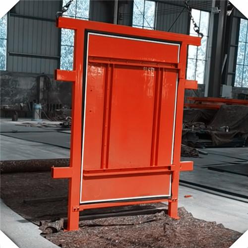 礦用竹膠板風門具有的特點