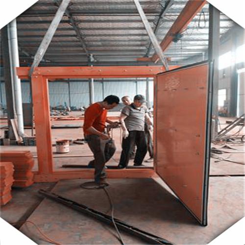 礦用竹膠板正反風門