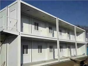 温州集装箱活动房的安装的过程