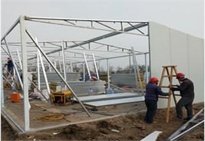钢结构活动房的搭建流程都有哪些?