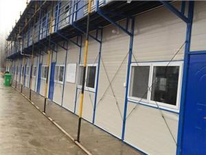 合肥活动板房的通用标准结构