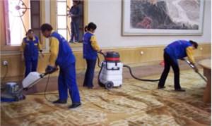 地毯吸尘清洁的操作标准