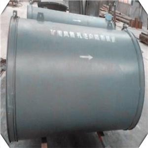 矿用风筒防逆流装置