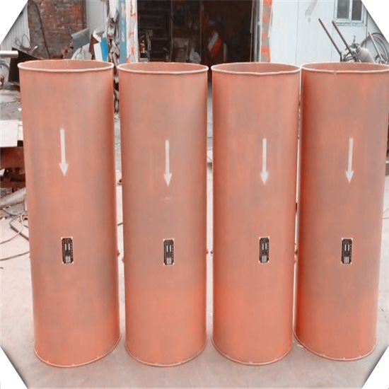 防逆流铁风筒的组成部分