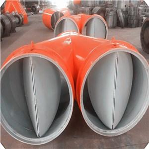 铁制自动分风器,煤矿用风机自动分风器