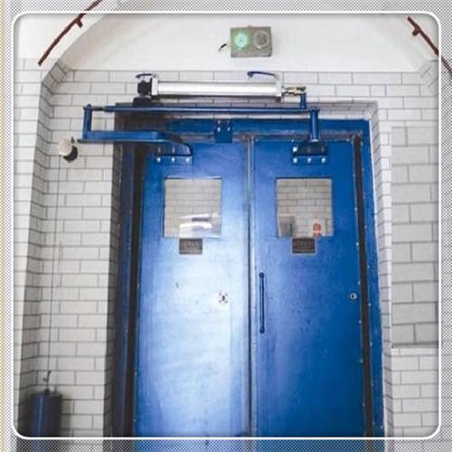 自动无压风门的使用和维护
