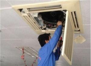 三菱空调开机显示14一直闪烁是什么原因
