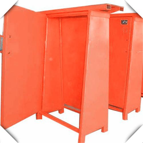 矿用正反向风门的安设方法
