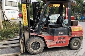 温州叉车租赁介绍叉车在雨天作业需注意什么?