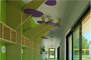 销售公司现代简约风格办公室装修设计