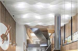 厦门办公室装修中如何做好形象墙的设计方案?