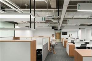 公装公司说开发室的办公室如何布置员工休息区