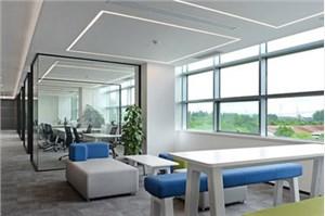 株洲办公室装修效果图与实景图对比,看看有什么不同