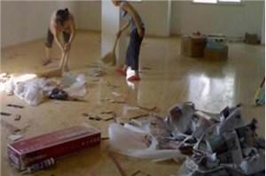 房间装修后一定要全面的做开荒保洁