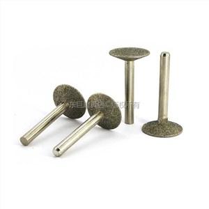 高品质倒T型金刚砂磨头k针 直径20毫米
