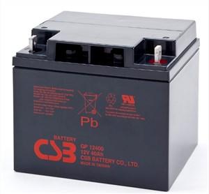 台湾CSB蓄电池GPL12400/12V40AH