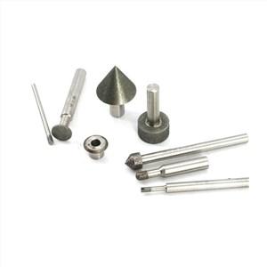 CBN磨棒锥面磨削和内孔磨削方法