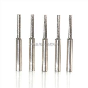 电镀加长内圆磨杆 钨钢深孔研磨棒 直径3毫米