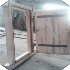 木质单扇风门,煤矿用木质正反风门