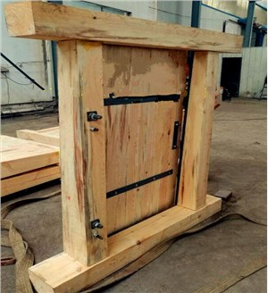 松木风门,松木矿用风门